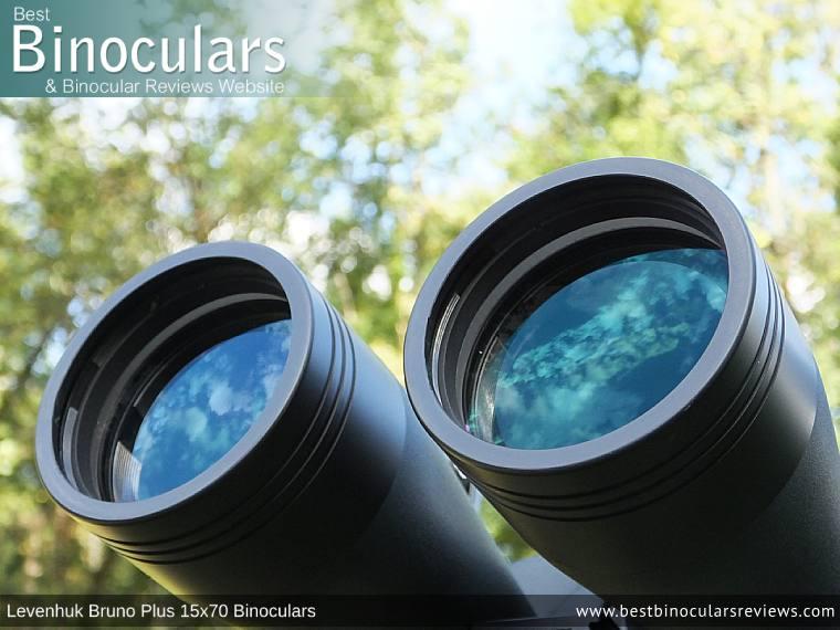 70mm Lenses on the Levenhuk Bruno Plus 15x70 Binoculars
