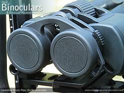 Rainguard on the Levenhuk Bruno Plus 15x70 Binoculars