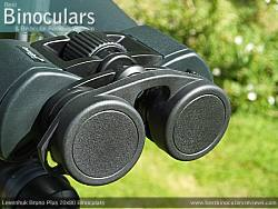Rainguard on the Levenhuk Bruno Plus 20x80 binoculars