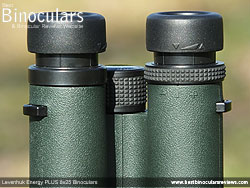 Diopter Adjustment on the Levenhuk Energy PLUS 8x25 Binoculars