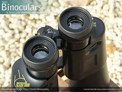Eyecups on the Levenhuk Heritage Plus 12x45 Binoculars