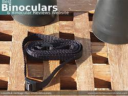 Neck Strap included with the Levenhuk Heritage Plus 12x45 Binoculars