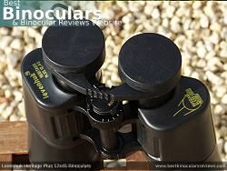 Rain Guard on the Levenhuk Heritage Plus 12x45 Binoculars