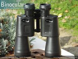 Underside of the Levenhuk Heritage Plus 12x45 Binoculars