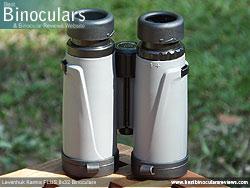 Underside of the Levenhuk Karma PLUS 8x32 Binoculars