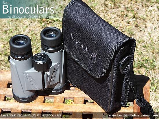 Carry Case for the Levenhuk Karma PLUS 8x32 Binoculars