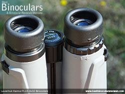 Diopter Adjustment on the Levenhuk Karma PLUS 8x32 Binoculars