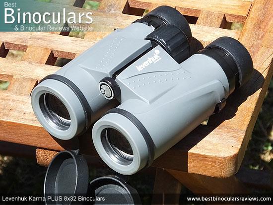 Objective Lenses on the Levenhuk Karma PLUS 8x32 Binoculars