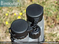 Rain Guard on the Levenhuk Karma PLUS 8x32 Binoculars