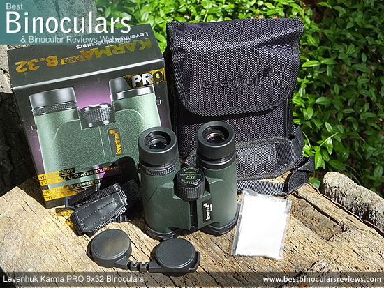 Accessories for the Levenhuk Karma PRO 8x32 Binoculars