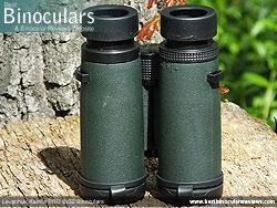 Underside of the Levenhuk Karma PRO 8x32 Binoculars