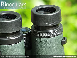 Diopter Adjustment on the Levenhuk Karma PRO 8x32 Binoculars