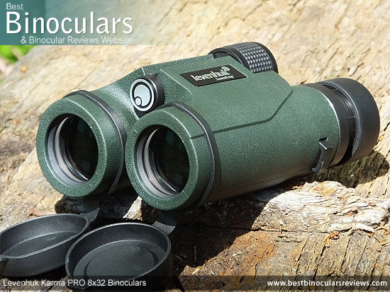 Objective Lenses on the Levenhuk Karma PRO 8x32 Binoculars