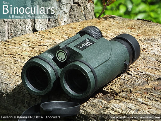 Levenhuk Karma PRO 8x32 Binoculars on Safari - Viewing Black Rhinos