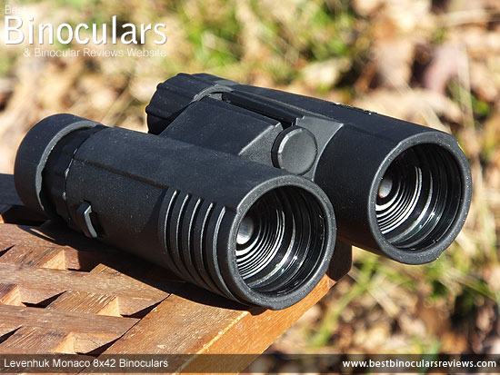 42mm Objective Lenses on the Levenhuk Monaco 8x42 Binoculars