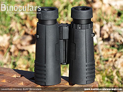 Underside of the Levenhuk Monaco 8x42 Binoculars