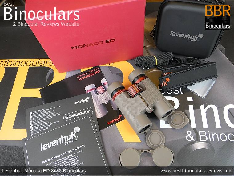 Accessories for the Levenhuk Monaco ED 8x32 Binoculars