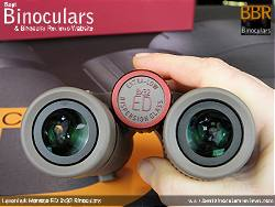Focus Wheel on the Levenhuk Monaco ED 8x32 Binoculars