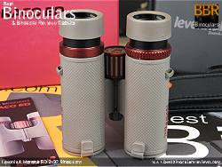 Underside view of the Levenhuk Monaco ED 8x32 Binoculars