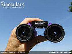 Focussing the Levenhuk Rainbow 8x25 Binoculars