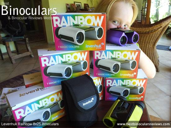 Levenhuk Rainbow 8x25 Binoculars