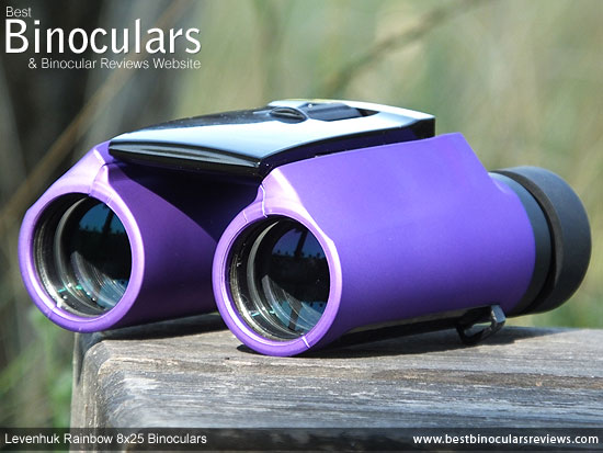 25mm objective lenses on the Levenhuk Energy PLUS binoculars