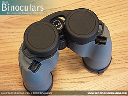 Rain Guard on the Levenhuk Sherman Plus 8x42 Binoculars