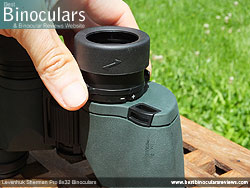 Diopter Adjustment on the Levenhuk Sherman Pro 8x32 Binoculars