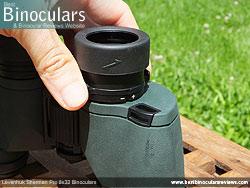 Diopter Adjustment on the Levenhuk Sherman Pro 8x32 Binoculars