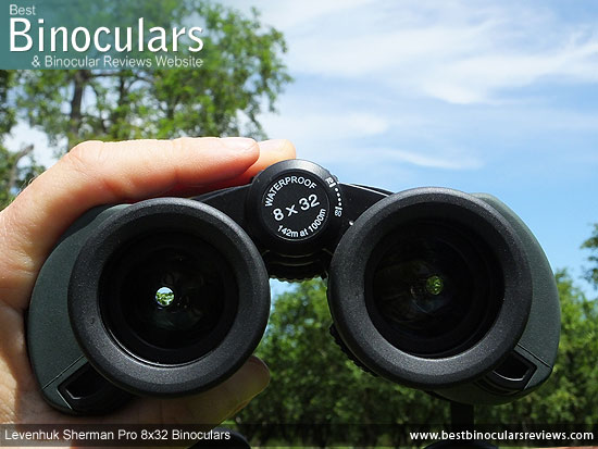 Adjusting the Focus Wheel on the Levenhuk Sherman Pro 8x32 Binoculars