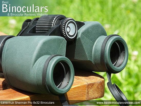 42mm Objective Lenses on the Levenhuk Sherman Pro 8x32 Binoculars