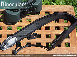 Neck Strap included with the Levenhuk Sherman Pro 8x32 Binoculars