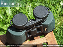 Rain Guard on the Levenhuk Sherman Pro 8x32 Binoculars