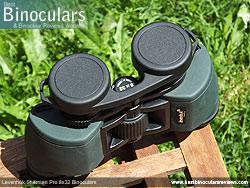 Rain Guard on the Levenhuk Sherman Pro 8x32 Binoculars