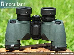 Underside of the Levenhuk Sherman Pro 8x32 Binoculars