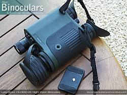Luna Optics LN-DB60-HD Digital Night Vision Binocular showing tripod mount