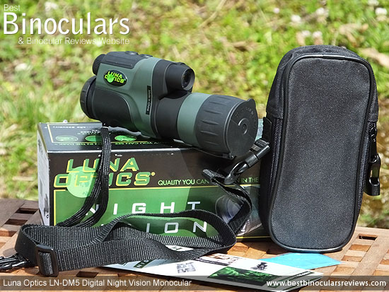 Luna Optics LN-DM5 Digital Night Vision Monocular with Carry Case