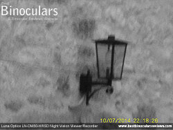 Image taken with the Luna Optics LN-DM50-HRSD Digital Night Vision Monocular at night