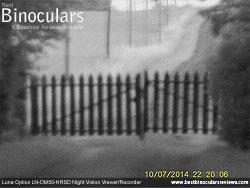 Image taken with the Luna Optics LN-DM50-HRSD Digital Night Vision Monocular at night