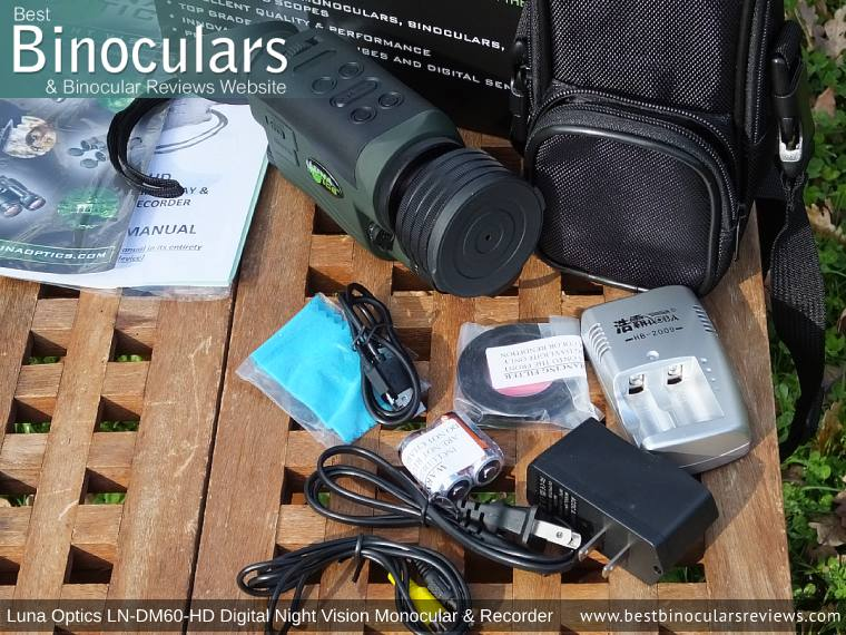 Carry case that comes with the Luna Optics LN-DM60-HD Digital Night Vision Monocular & Recorder