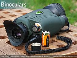 Battery Compartment on the Luna Optics LN-DM60-HD Digital Night Vision Monocular & Recorder