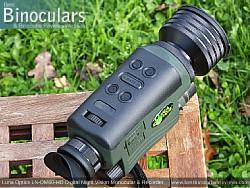 Main Controls on the Luna Optics LN-DM60-HD Digital Night Vision Monocular & Recorder