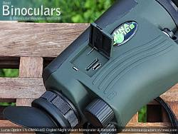 Memory Compartment on the Luna Optics LN-DM60-HD Digital Night Vision Monocular & Recorder