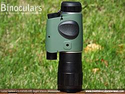 Battery Compartment on the Luna Optics LN-NVM5-HR Night Vision Monocular