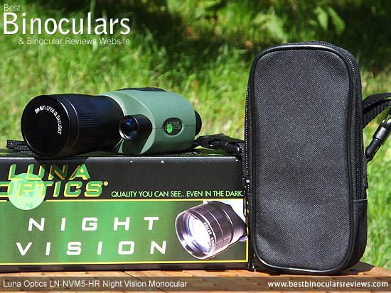 Luna Optics LN-NVM5-HR Night Vision Monocular with Carry Case