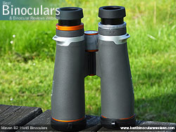 Underside of the Maven B2 11x45 Binoculars
