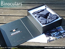 Unboxing the Maven B2 11x45 Binoculars