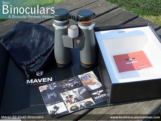 Unboxing the Maven B2 11x45 Binoculars