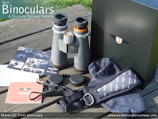 Carry Bag for the Maven B2 11x45 Binoculars