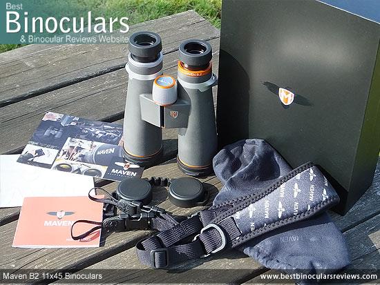 Carry Bag for the Maven B2 11x45 Binoculars